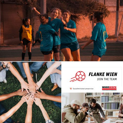 Flanke Wien Join the Team Imagebild © wienwork